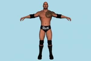 The Rock wwe, wwf, wcw, wrestler, man, male, hero, people, human, character