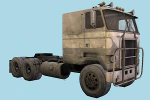 Flatnose Truck flatnose, trailer, truck, vehicle, cargo, car, carriage, wagon, commercial