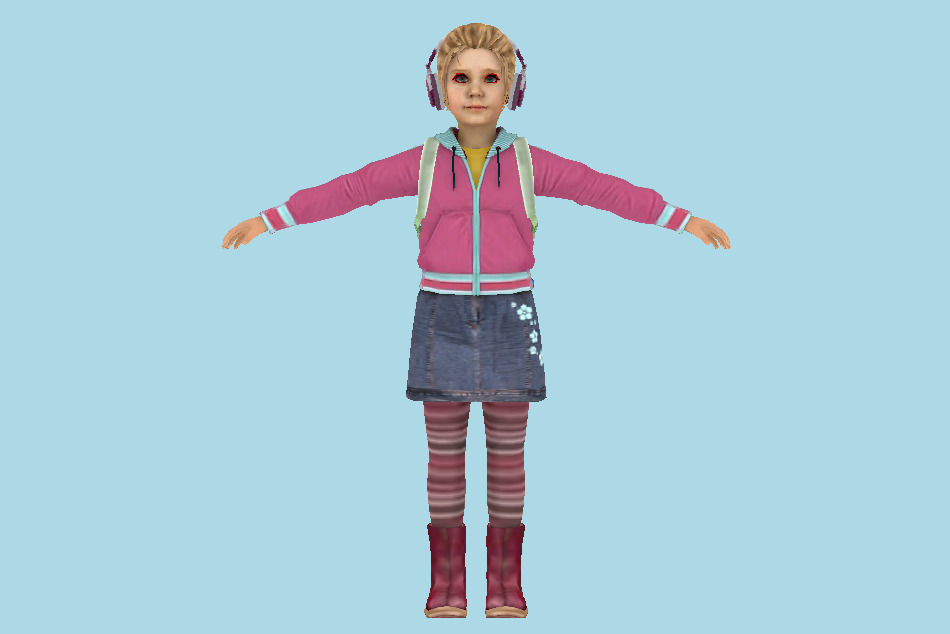 Dead Rising 2 Katey Greene 3d model