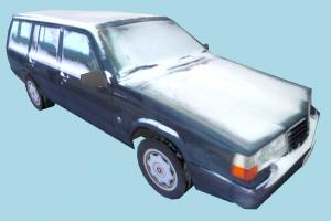 Car Snowy Low-poly car, truck, vehicle, transport, carriage, snow, snowy, dirty, ice, cold, blue, low-poly