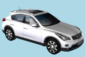 Infiniti QX50 Car car, vehicle, transport, carriage