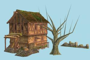 House house, farm, barn, town, country, wood, wooden, village, home, building, build, residence, domicile, structure