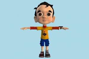 Little Boy boy, nerd, kid, child, male, man, people, human, children, character, cartoon