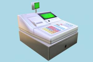 Cashier cash, cashier, register, super-market, super, market, money, box, lowpoly, calculator, invoice, cashout, checkout, accounting