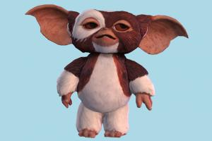 Gremlins Toy scanned-models, toy, teddy, plastic, cartoon, character