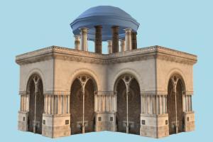 God 3D Model Download for Free