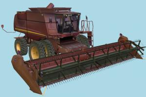 Harvester harvester, tractor, harvest, farm, bulldozer, truck, vehicle
