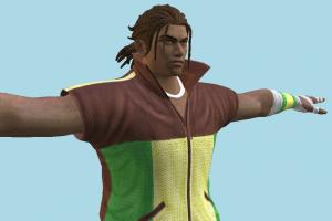 Tekken 7 - Eddy Gordo Dancer Outfit