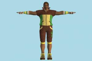 Eddy Gordo Tekken, man, male, people, human, character