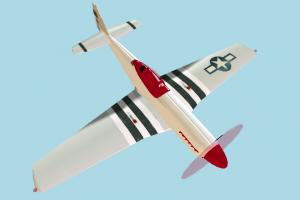 P51 Aircraft aircraft, plane, airplane, fly, vessel