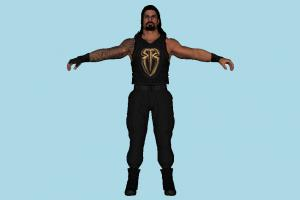 Roman Reigns WWE wwe, wwf, wcw, wrestler, man, male, people, human, character