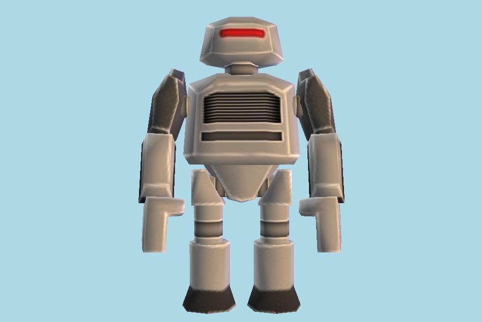 Roblox Robot 3d Model