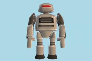 Roblox Robot robot, character, cartoon, lowpoly