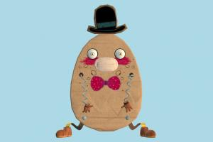 Humpty Dumpty egg, character, cartoon