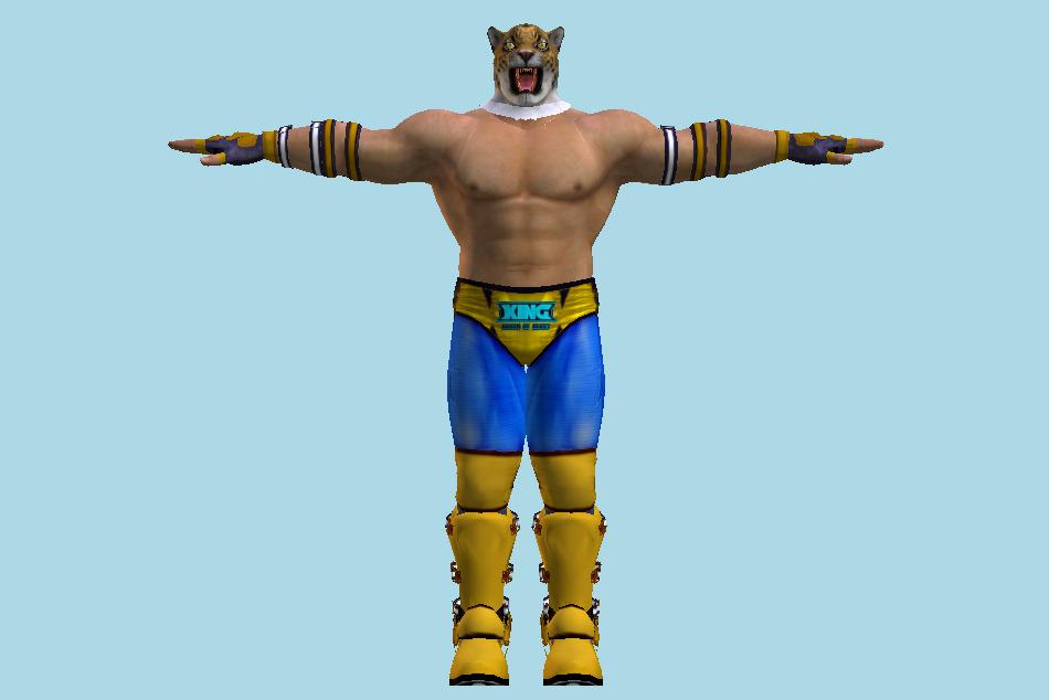 Tekken 7 King 3d Model