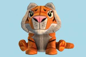 Tiger Teddy tiger, teddy, animal, animals, toy, cartoon