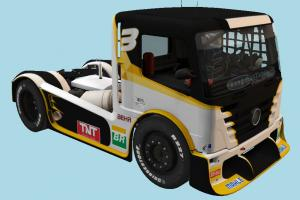 Truck with Interior Interior, car, truck, riding, rider, racing, vehicle, carriage