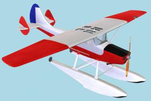 Water Plane water-plane, waterplane, aircraft, airplane, plane, craft, air, vessel