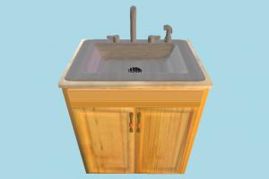 Sink sink, cabinet, wardrobe, pantry, furniture, wooden