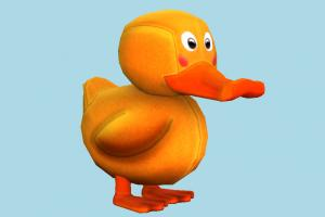 Duck rubber-duck, duck, chick, bird, air-creature, toy, rubber, bath, cartoon, toony, teddy