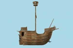 Ship galleon, pirate-ship, boat, sailboat, ship, watercraft, vessel, wooden, maritime, greek