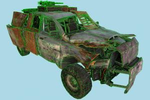 Terminator Salvation Car