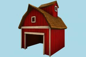Farm Barn barn, farm, house, town, country, home, building, build, residence, domicile, structure