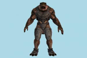 Enforcer monster, animal-character, beast, character