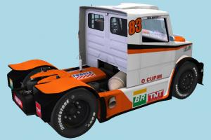 Mercedes-Benz Boessio Competicoes Exterior Racing Truck