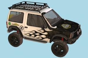 Offorad Car offroad, hummer, racing, speed, fast, car, truck, vehicle, carriage, transport