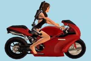 Lara Driving Motorbike lara-croft, driver, lara, motorbike, female, girl, woman, bike, motorcycle, motor, cycle, sport, sportive, speed, fast, racing, race