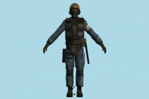 Soldier counter-strike, army-man, army, man, soldier, man, people, human, character