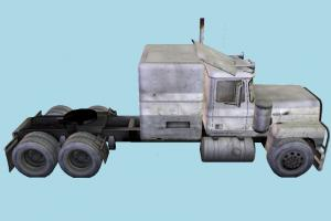 Longnose Commercial Truck