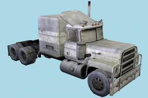 Commercial Truck commercial-truck, truck, trailer, vehicle, car, cargo, carriage, wagon