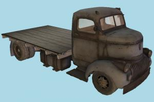 Old Truck truck, vehicle, military, army, car, carriage, old