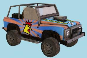 Car offroad, hummer, car, truck, vehicle, carriage, transport,