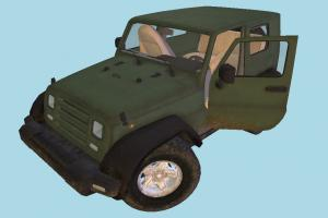 Jeep Car Resident-Evil, jeep, 4x4, car, military, army, truck, vehicle, carriage, salvation