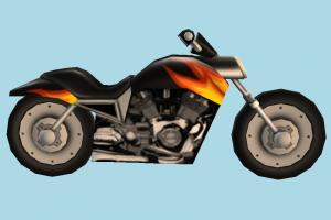Motorcycle Low-poly Roblox, ro-torcycle, motorbike, bike, motorcycle, motor, cycle, sport, sportive, speed, fast, racing, race, cartoon, low-poly