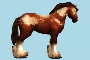 Horse horse, animal, animals, wild, nature, mammal, ruminant, zoology, africa, forest, jungle, predator, prey, low-poly
