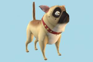 NUT JOB - Precious NUT-JOB, dog, puppy, animals, cartoon, toony