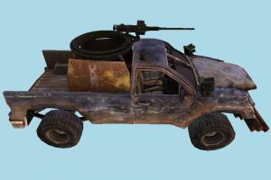 Terminator Salvation Car 2