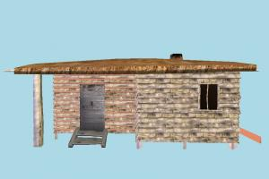 House hut, cottage, shanty, shack, cabin, small, house, home, farm, country
