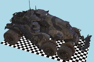 Gears Of War - Armadillo Military Car