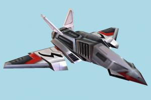 Spaceship spaceship, spacecraft, space, ship, craft, aircraft, airplane, plane, air, vessel, lowpoly