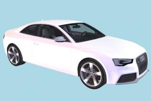 Audi RS5 Car Audi, car, vehicle, transport, carriage, white