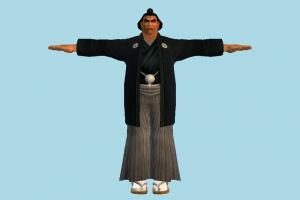 Tekken Ganryu tekken, man, male, people, human, character, japanese, chinese, asian