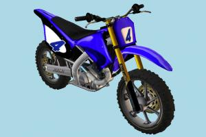 Suzumu Bike motorbike, bike, motorcycle, motorcross, motor, cycle, blue