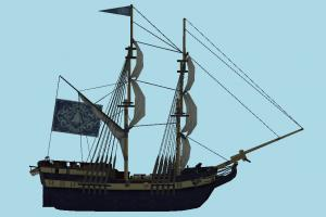 Ship pirate-ship, boat, sailboat, pirate, ship, watercraft, vessel, wooden, maritime