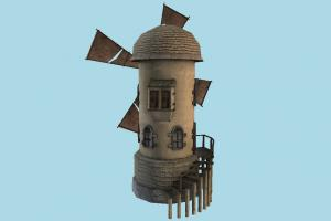 Windmill windmill, mill, wind, barn, farm, house, tower, town, country, home, building, build, structure