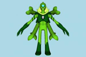 Ben 10 Wildvine Ben10, ben, ten, character, monster, cartoon
